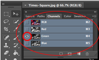 Simple Adobe Photoshop Effects - Channels Panel