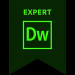 Adobe Dreamweaver Expert Badge
