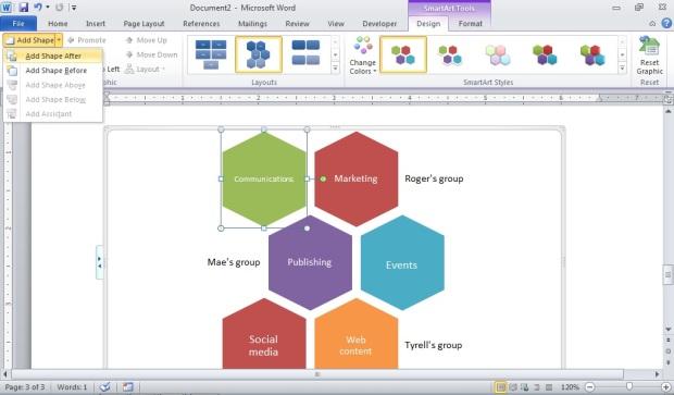 SmartArt a hidden gem for business publications