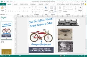 Microsoft Publisher Classes