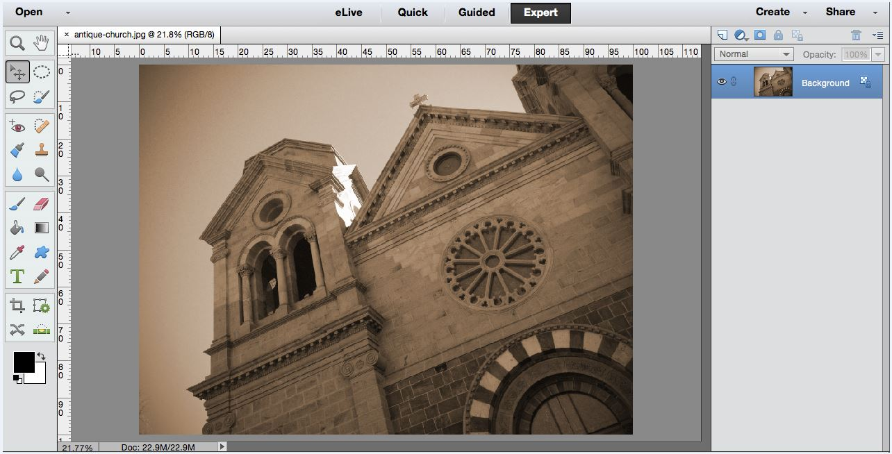 Creative Photo Editing: Antiquing