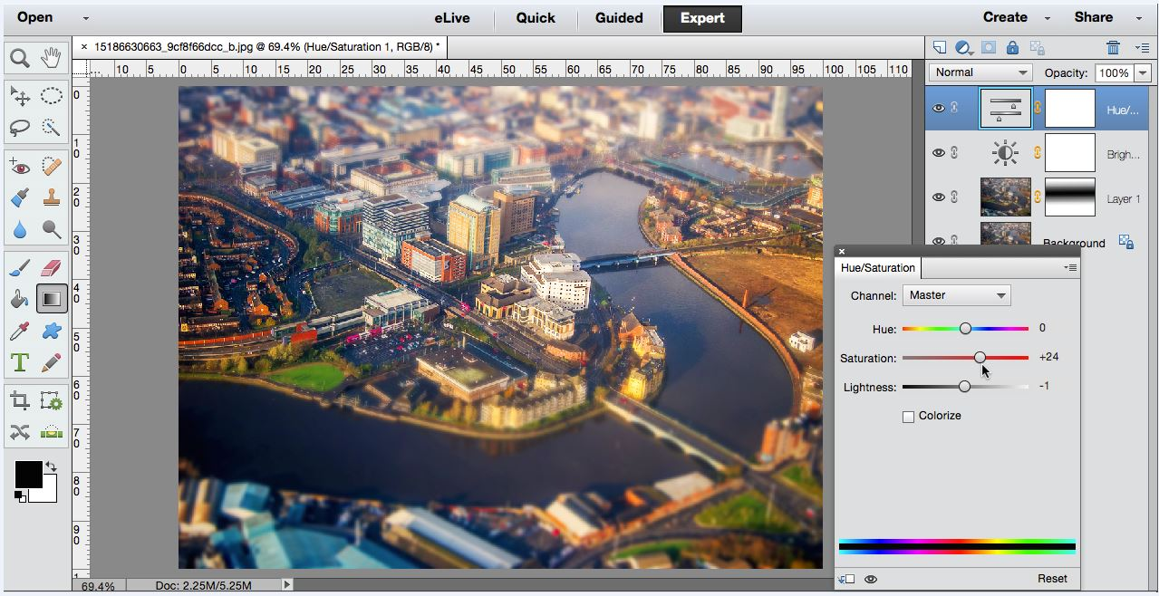 Creative Photo Editing: Tilt-Shift