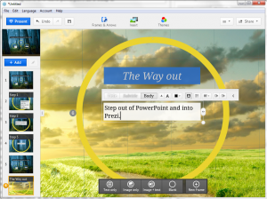 Prezi Presentations Classes
