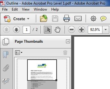 Adobe Acrobat Professional Classes
