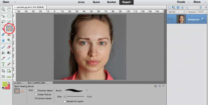 2 Photoshop Tools To Save Your Portraits