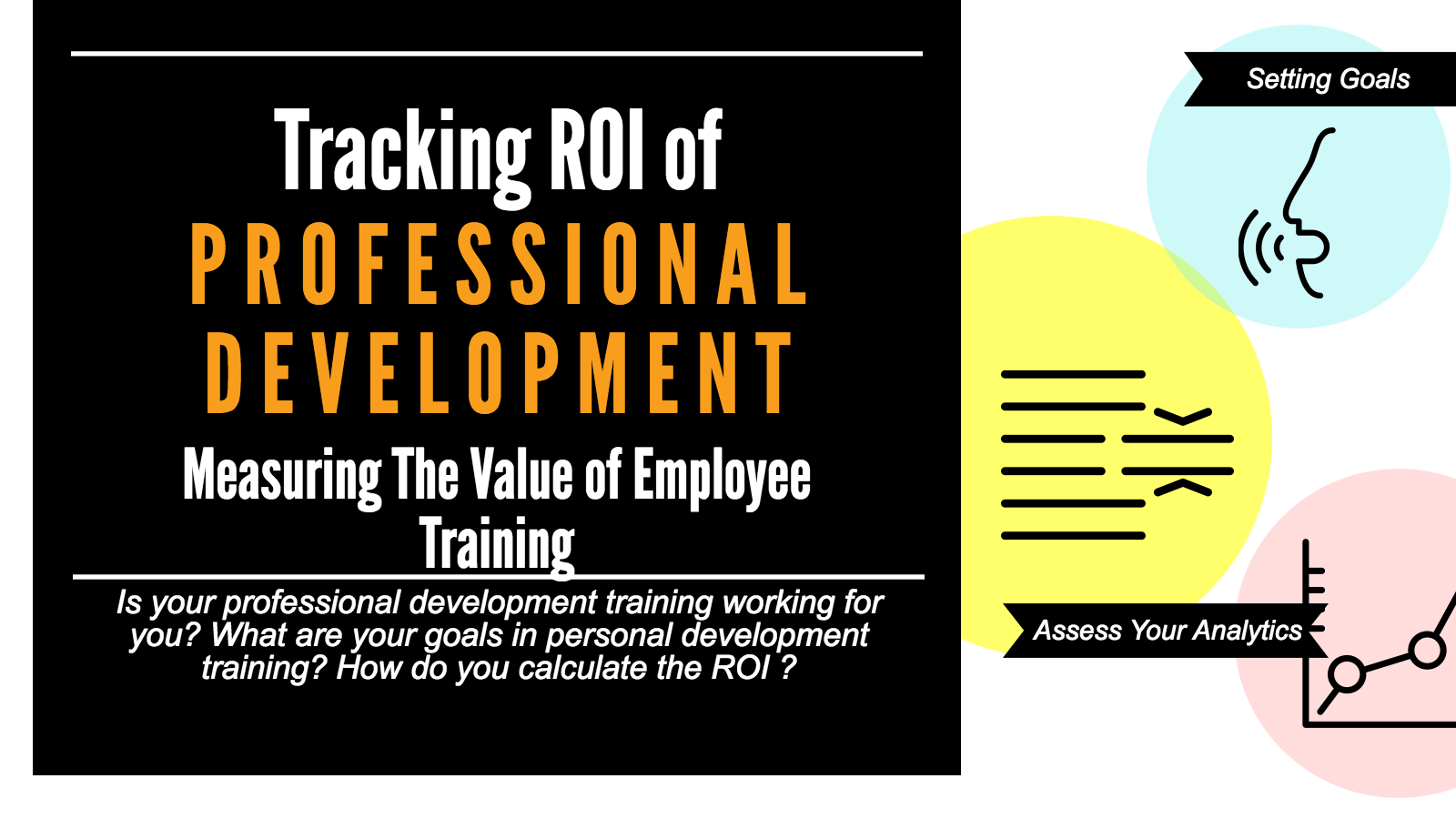 Track ROI of Professional Development in 4 Steps [infographic]