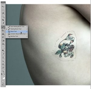 patch tool photoshop