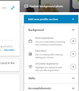 alumni on LinkedIn - LinkedIn edit profile