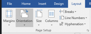 Microsoft Word - Long document - Section breaks