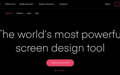 Web Design Tools Review: Invision Studio