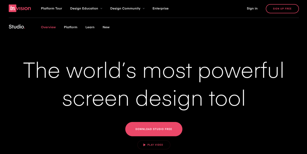Web Design Tools Review: Invision Studio
