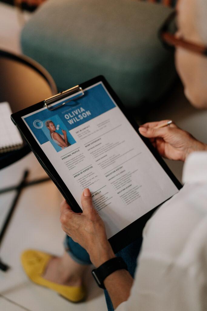 improve your resume design