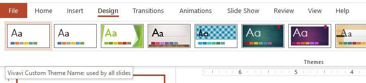 Custom Theme Slides