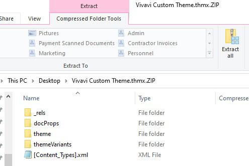 Extracting ZIP file