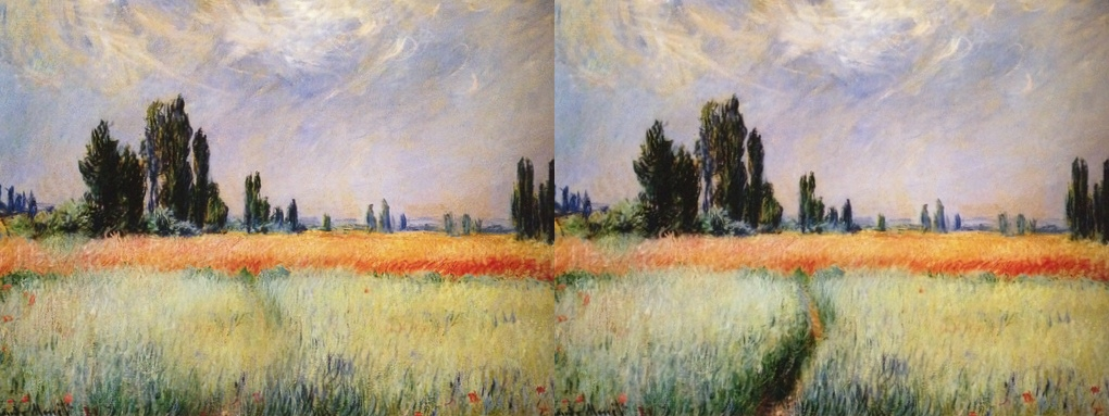 Digital Photography: Leading Lines Claude Monet Painting