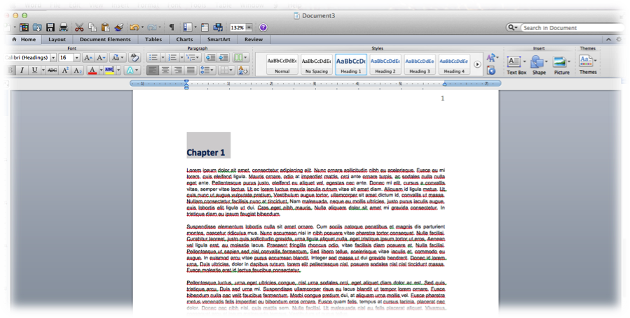 Advanced Formatting in Microsoft Word