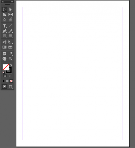 Basic InDesign Layout - Blank