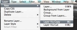 New Layer via Copy