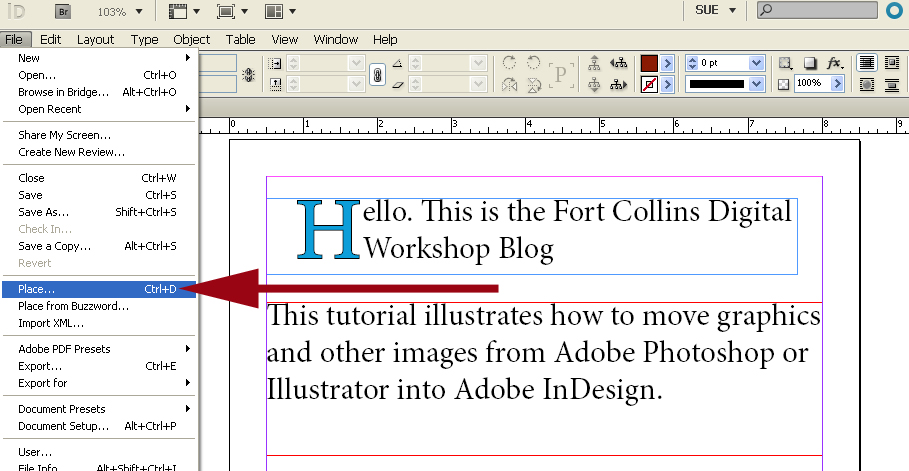 how to create a tiff file from indesign